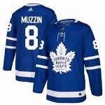 NHL Toronto Maple Leafs #8 Jake Muzzin blue adidas jersey