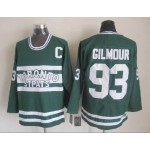 Men's Toronto Maple Leafs #93 Doug Gilmour Green Throwback CCM Jersey