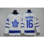 Women Tonrto Maple Leafs #16 Mitch Marner White Adidas Jersey