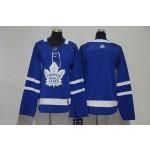 Women Tonrto Maple Leafs Blank Blue Adidas Jersey