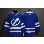 NHL Tampa Bay Lighting Blank Blue Drift Fashion Adidas Jersey