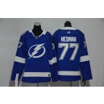 Youth Tampa Bay Lighting #77 Victor Hedman Blue Adidas Jersey