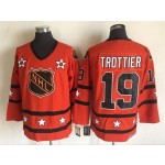 NHL All Star Game throwback Bryan Trottier #19 Orange jersey