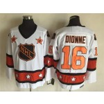 NHL All Star Game throwback Marcel Dionne #16 White jersey