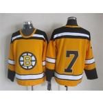 NHL Boston Bruins #7 Phil Esposito 1959-60 Yellow CCM Vintage Throwback