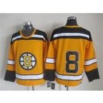 NHL Boston Bruins #8 Cam Neely 1959-60 Yellow CCM Vintage Throwback