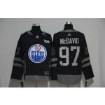 NHL Edmonton Oilers #97 Connor McDavid Black 1917-2017 100th Anniversary Jersey