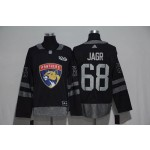 NHL Florida Panthers #68 Jaromir Jagr Black 1917-2017 100th Anniversary Jersey