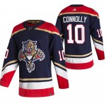 Florida Panthers #10 Brett Connolly Black Men's Adidas 2020-21 Reverse Retro Alternate NHL Jersey