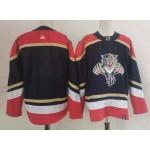 NHL Panthers Blank Navy 2020-21 Reverse Retro Adidas Jersey
