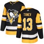 Men's Pittsburgh Penguins #13 Brandon Tanev Black Home Stitched NHL Jersey