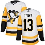 Men's Pittsburgh Penguins #13 Brandon Tanev White Home Stitched NHL Jersey
