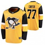 Men's Pittsburgh Penguins #77 Jeff Carter 2021 Yellow Adidas Jersey