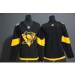Women Pittsburgh Penguins Blank Black 2019 Stadium Series jersey