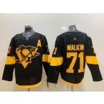 Youth Pittsburgh Penguins #71 Evgeni Malkin Black 2019 Stadium Series jersey