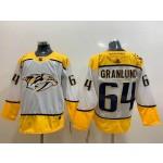 NHL Nashville Predators #64 Mikael Granlund White Adidas Jersey
