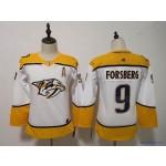 Youth Nashville Predators #9 Filip Forsberg White Adidas Jersey