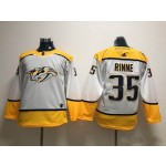 Youth Nashville Predators #35 Pekka Rinne White Adidas Jersey