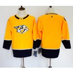Youth Nashville Predators Blank Yellow Adidas Jersey