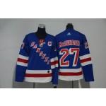 Women New York Rangers #27 Rayn McDonagh White Adidas Jersey