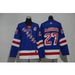 Youth New York Rangers #27 Rayn McDonagh White Adidas Jersey