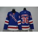 Youth New York Rangers #36 Mats Zuccarello Blue Adidas Jersey