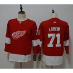 Youth Red Wings #71 Dylan Larkin Red Adidas Jersey