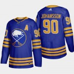 Men's Buffalo Sabres #90 Marcus Johansson Royal Blue Adidas 2020-21 Player Home NHL jersey