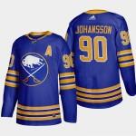 Men's Buffalo Sabres #90 Marcus Johansson Royal Blue Adidas 2020-21 Player Home NHL jersey