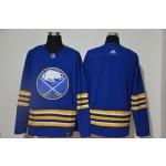Men's Buffalo Sabres Blank Royal Blue 2021 Reverse Retro Jersey Adidas jersey