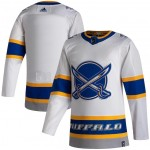 NHL Sabres Blank White 2020-21 Reverse Retro Adidas Jersey