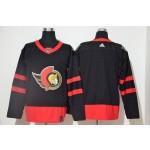 Men's Ottawa Senators Black Adidas 2020-21 Player Away New 2D Jersey