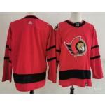 Ottawa Senators Blank Red Men's Adidas 2020-21 Reverse Retro Alternate NHL Jersey