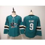 Women San Jose Sharks #9 Evander Kane Green Adidas Jersey