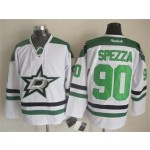 Men's Dallas Stars #90 Jason Spezza White Throwback CCM Jersey