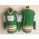 Men's Hartford Whalers Green third Throwback CCM Jersey