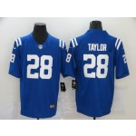 NFL Indianapolis Colts #28 Jonathan Taylor blue Vapor Untouchable Limited Jersey