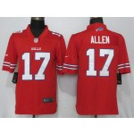 NFL Buffalo Bills Josh Allen #17 Red Vapor Untouchable Limited Jersey