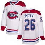 NHL Montreal Canadiens #26 Jeff Petry White Adidas Jersey