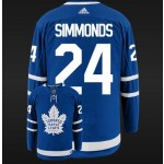 Toronto Maple Leafs Simmonds #24 Blue Adidas NHL Jersey