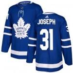 NHL Toronto Maple Leafs #31 Curtis Joseph blue adidas jersey