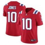 Nike Patriots #10 Mac Jones Red Vapor Untouchable Limited Jersey