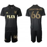 21-22 Los Angeles FC #66 Wright-Phillips Black Home Soccer Jersey