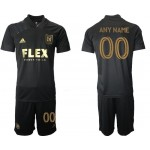 21-22 Los Angeles FC Any Name Black Home Soccer Jersey(Name and number remark in comment column)