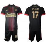 21-22 Atlanta United Atlanta #17 Black Jesery
