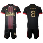 21-22 Atlanta United Barco #8 Black Jesery