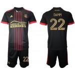 21-22 Atlanta United Damm #22 Black Jesery