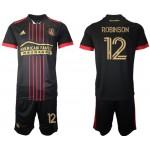 21-22 Atlanta United Robinson #12 Black Jesery