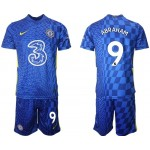 21-22 Chelsea #9 Tammy Abraham Blue Home Soccer Jersey