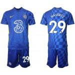 21-22 Chelsea #29 Kai Havertz Blue Home Soccer Jersey